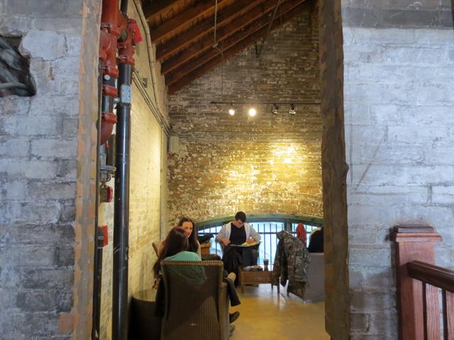 upstairs at balzacs distillery district toronto