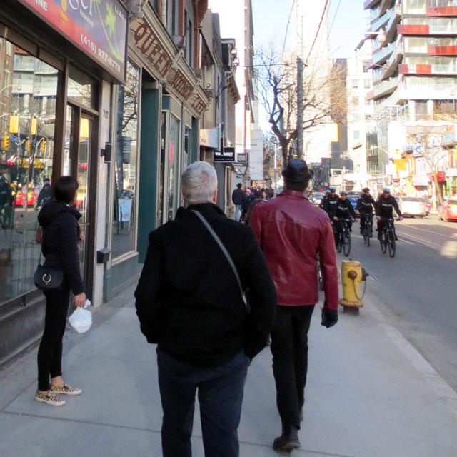 approaching restaurant