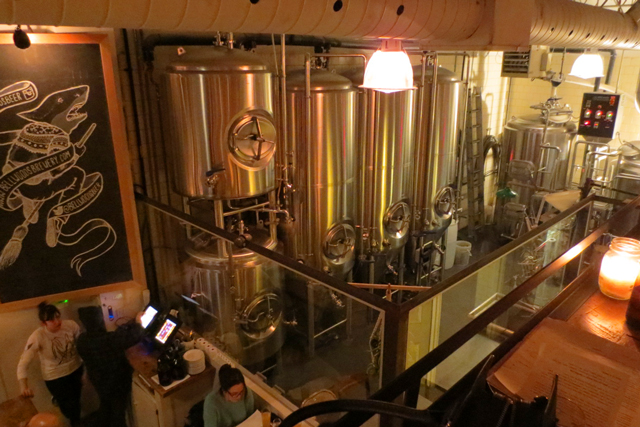 bellwoods brewery ossington avenue toronto beer making vats