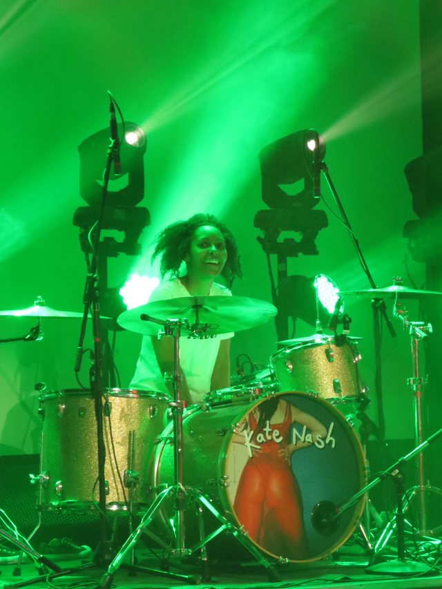 drummer kate nash band at the mod club toronto