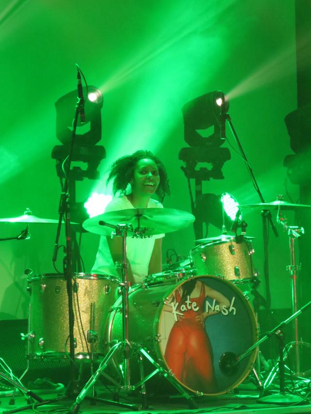 drummer kate nash band at the mod club toronto
