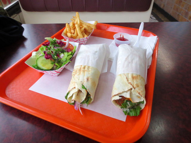 falafel in parkdale toronto
