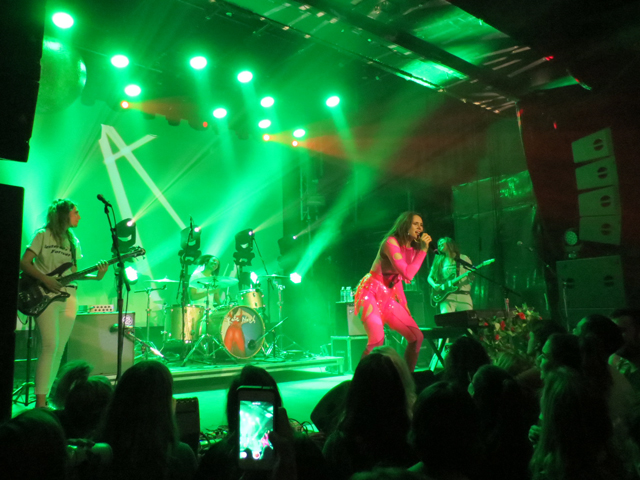 kate nash and band in toronto mod club spring 2018 collective records
