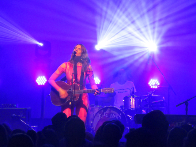 kate nash in toronto at mod club acoustic guitar collective concerts