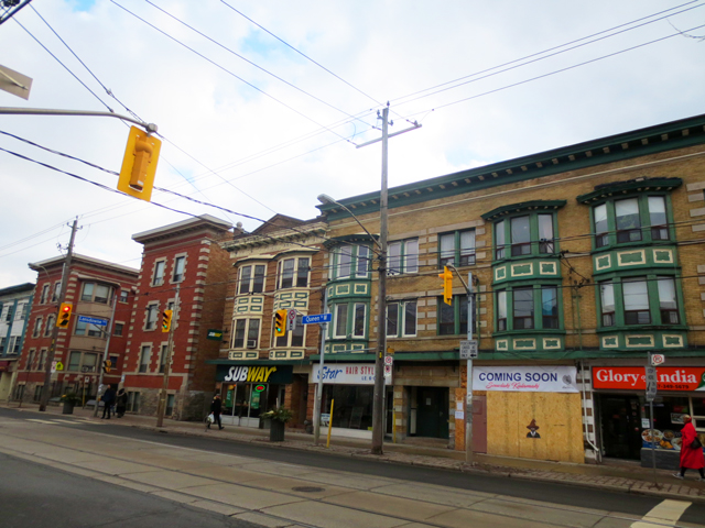 lansdowne and queen street west toronto parkdale