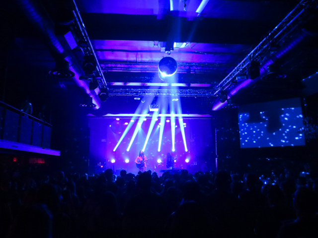 mirror ball at the mod club toronto