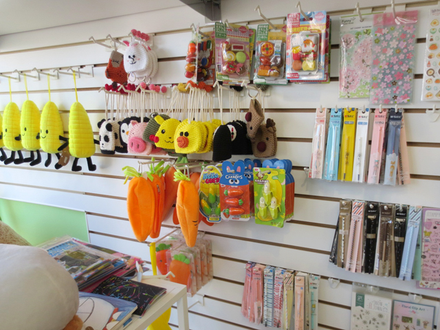 cute things in korean stationery shop bloor street toronto