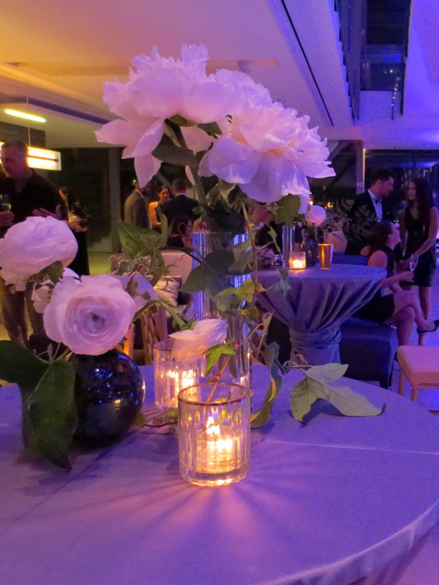 flowers and candles at royal occasion gala royal conservatory of music 2018 by stemz