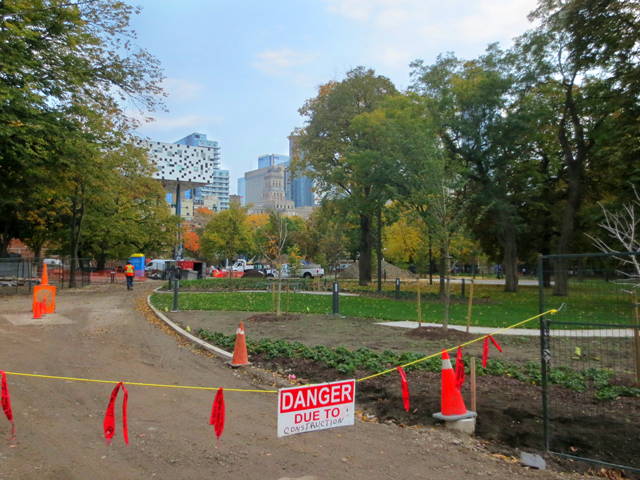grange park toronto while being restored october 2016