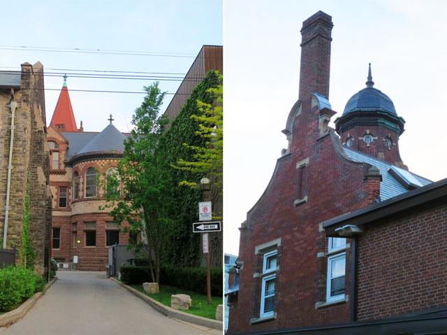 toronto historic buildings victoria college