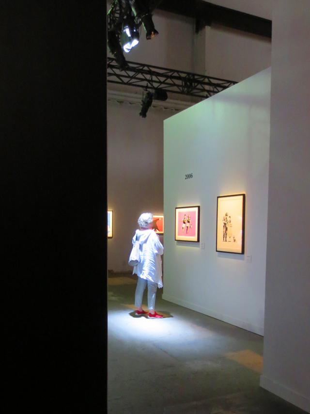 at bansky art show toronto