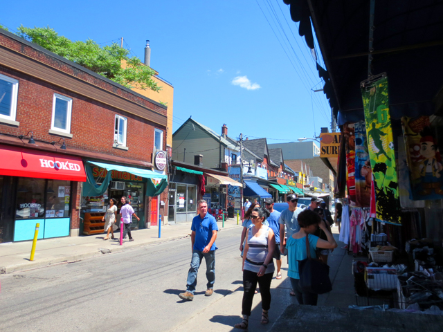 baldwin street in kensington market toronto