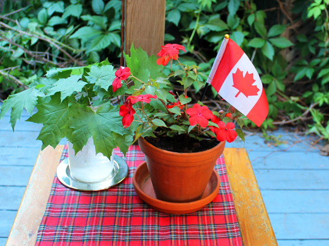 canada day bbq dinner party toronto lifestyle blog canadian blogger