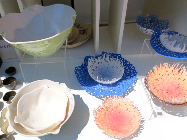 ceramics by hana balaban pommier at toronto outdooor art fair