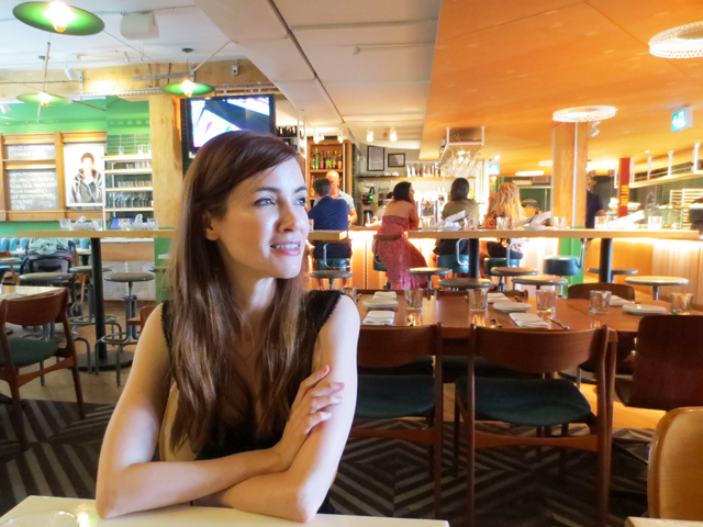 j at restaurant