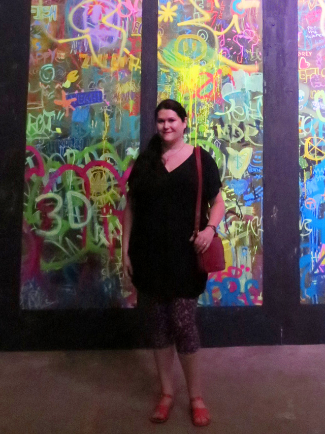 me graffiti stained glass
