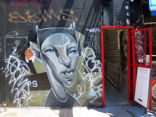 street art in kensington market toronto