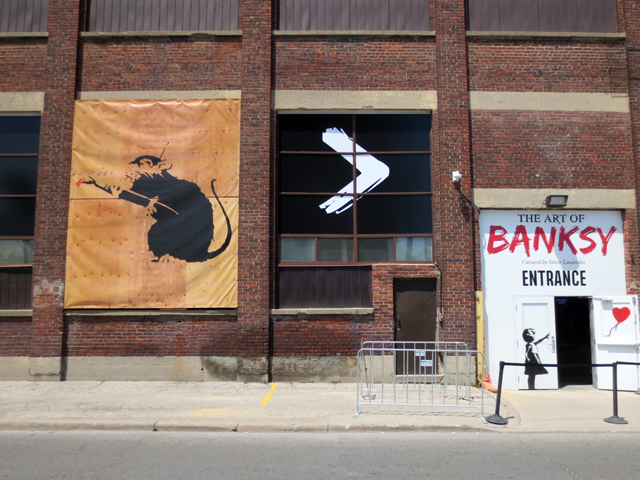 the art of banksy exhibition in toronto summer 2018