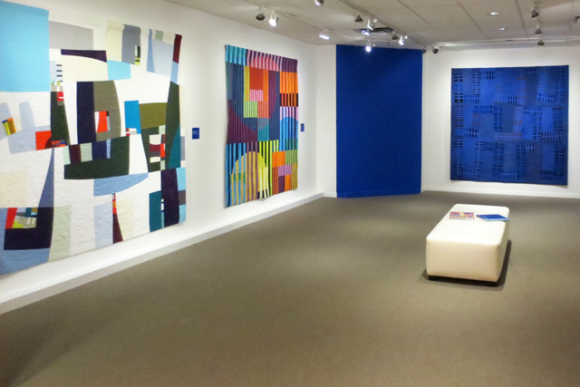 COLOR IMPROVISATIONS AN INTERNATIONAL EXHIBITION OF CONTEMPORARY QUILTS at textile museum of canada in toronto
