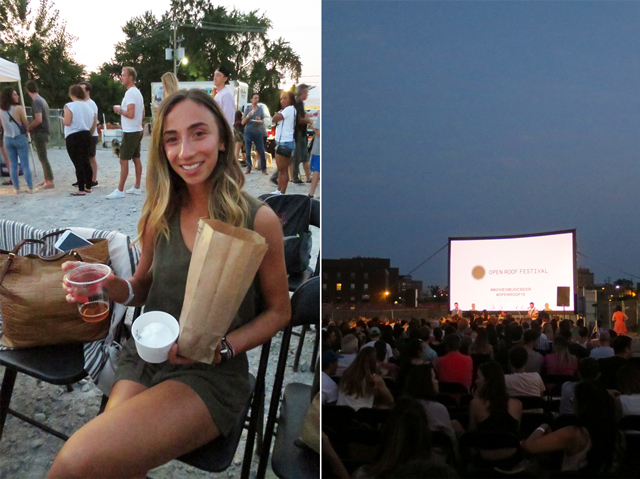 at the open roof festival toronto moviesmusicbeer