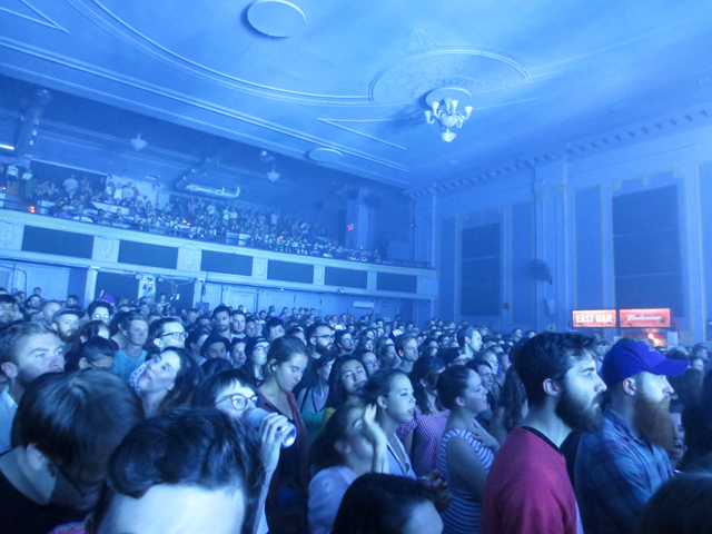 audience the danforth music hall toronto