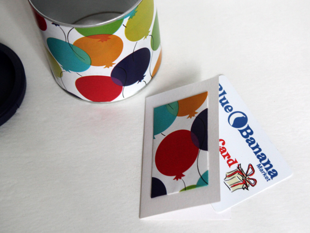 can with card