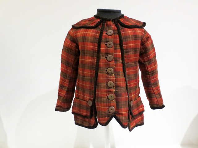 childs jacket late 1900s canada on display at textile museum toronto
