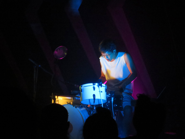 drummer ian chang at danforth music hall toronto sylvan esso show