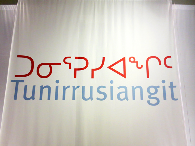 exhibition by inuit artists Kenojuak Ashevak and Timootee Tim Pitsiulak tunirrusiangit at ago toronto