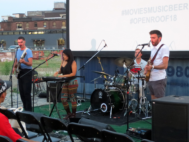 goosebump band at open roof festival toronto