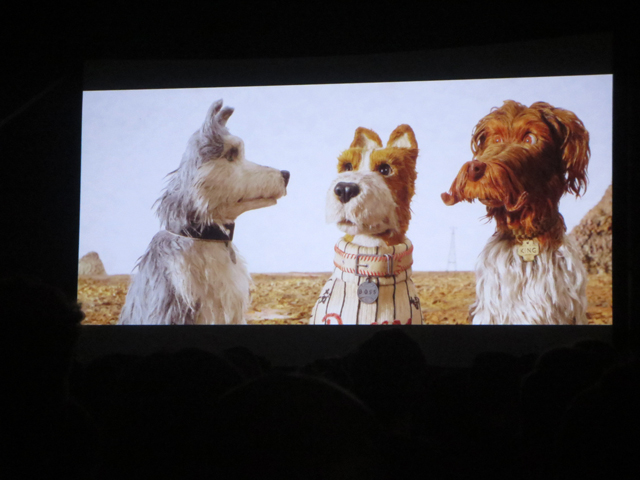 isle of dogs film screening at toronto open roof festival
