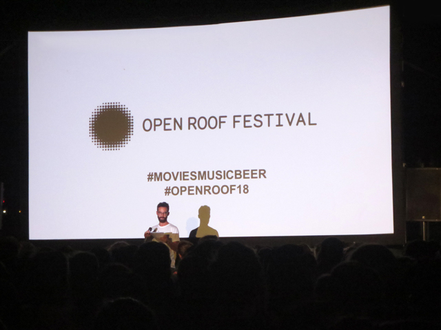 mc at open roof festival toronto 2018 movies music beer