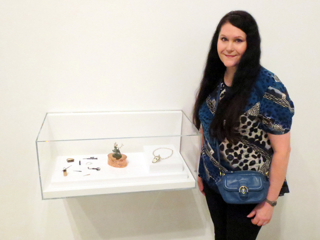 me with miniature art