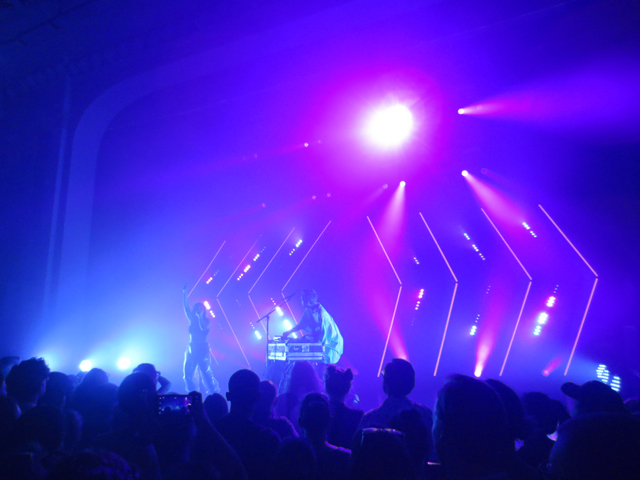 sylvan esso in toronto at danforth music hall