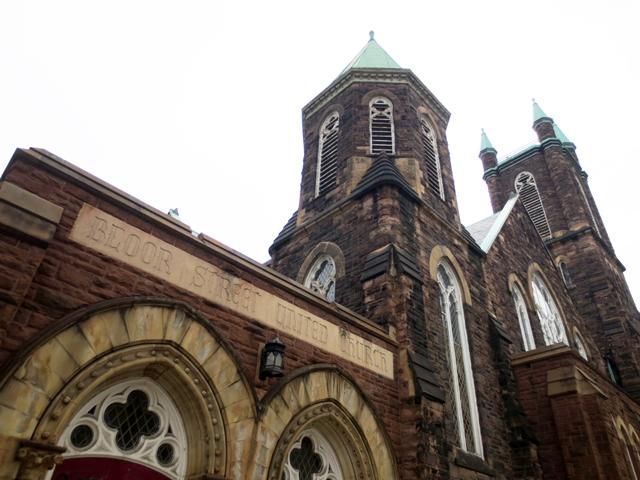 bloor street united church historic building bloor street west toronto