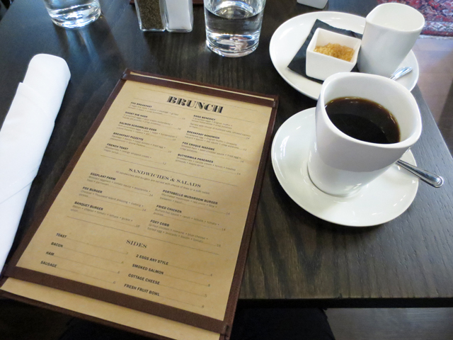brunch at the fortunate fox bloor street toronto