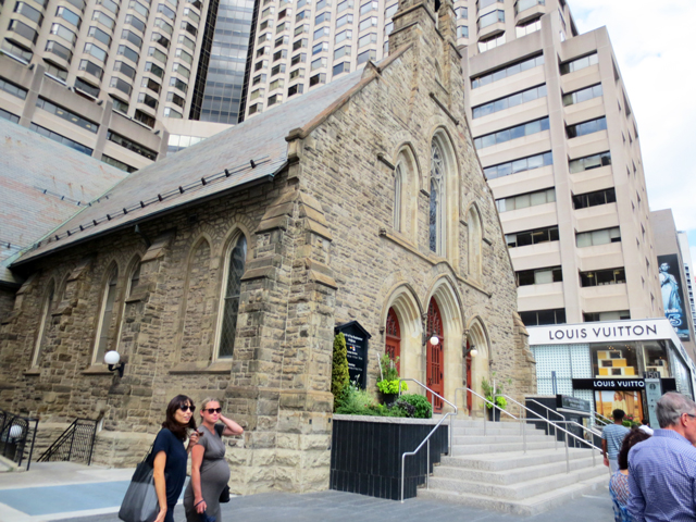 church of the redeemer bloor street and avenue road toronto historic building