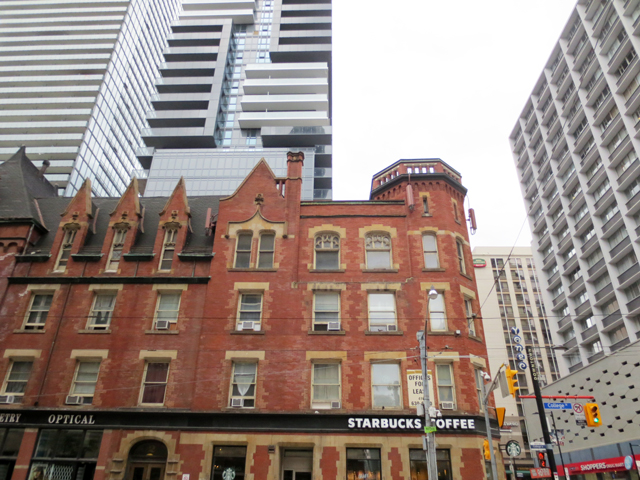 historic building college and yonge street toronto