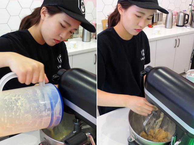 making ice cream at lab sense yonge street toronto