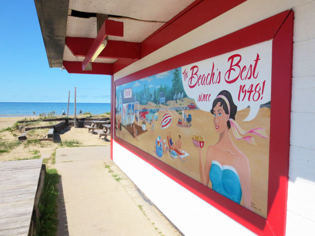 old restaurant sauble beach ontario