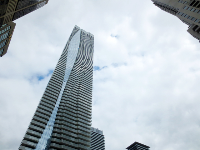 one bloor street east condominium sixth tallest building in toronto