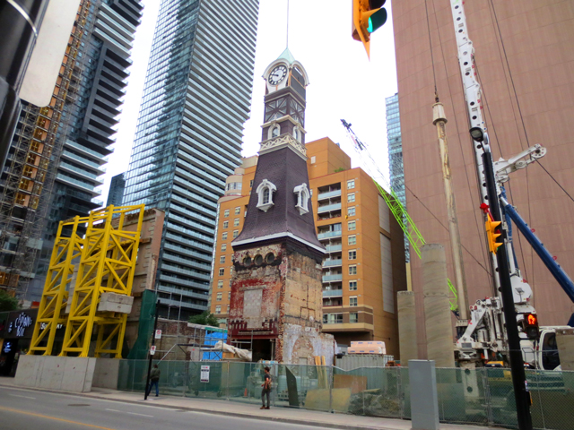toronto building new structures around the historic ones yonge street first station