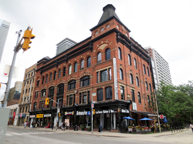 toronto historic building masonic hall yonge street now glouchester mews