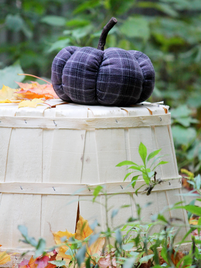 autumn crafting how to make a fabric pumpkin