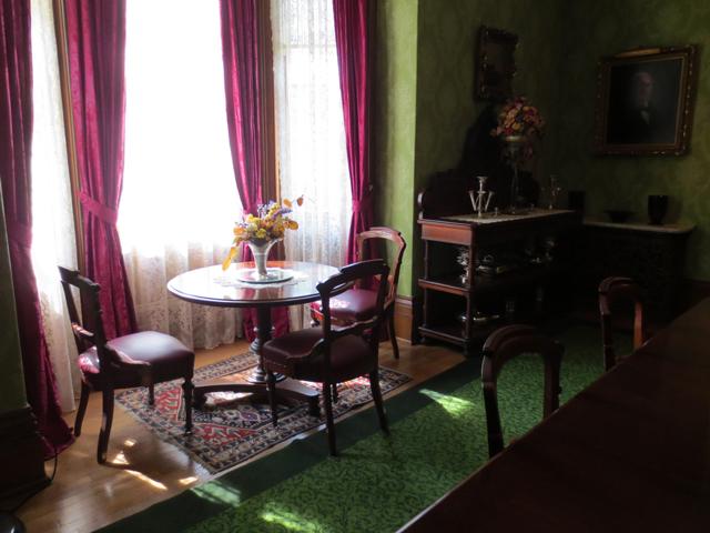breakfast table at spadina house museum toronto