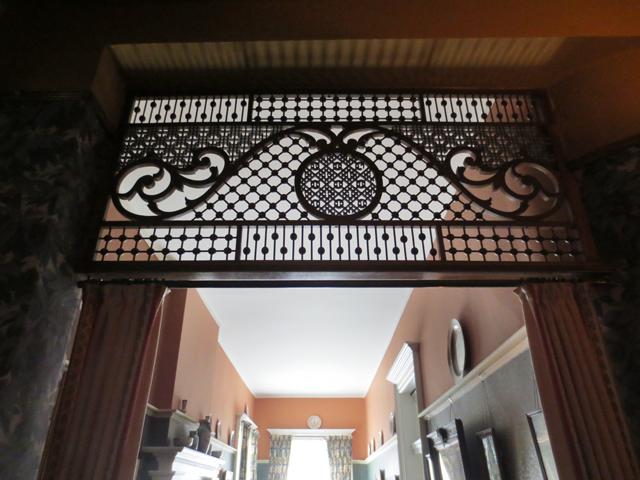 detail over doorway