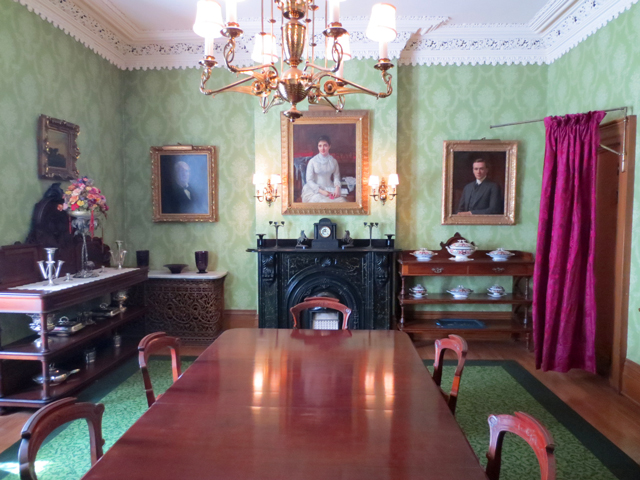 dining room at spadina house historic home museum toronto