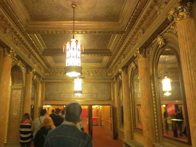 foyer elgin winter garden theatres toronto