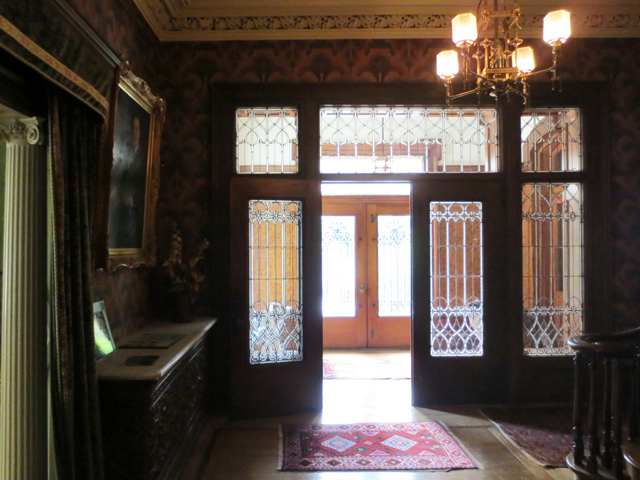 front doorway at spadina house historic home museum toronto