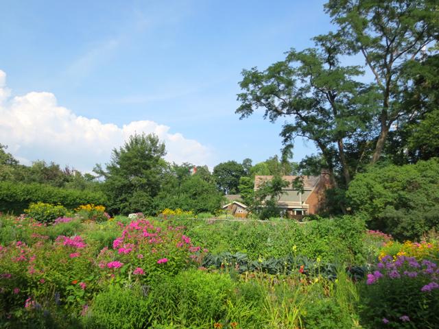 garden at spadina house museum toronto